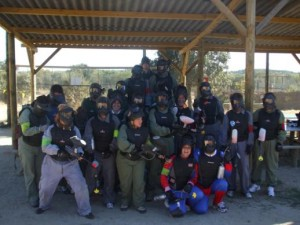 Cumplea os y despedidas en paintball noticias megacampo for Megacampo paintball madrid oficinas madrid