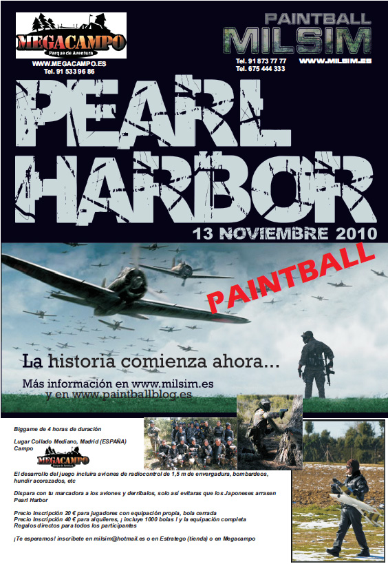 2010 octubre 14 noticias megacampo for Megacampo paintball madrid oficinas madrid